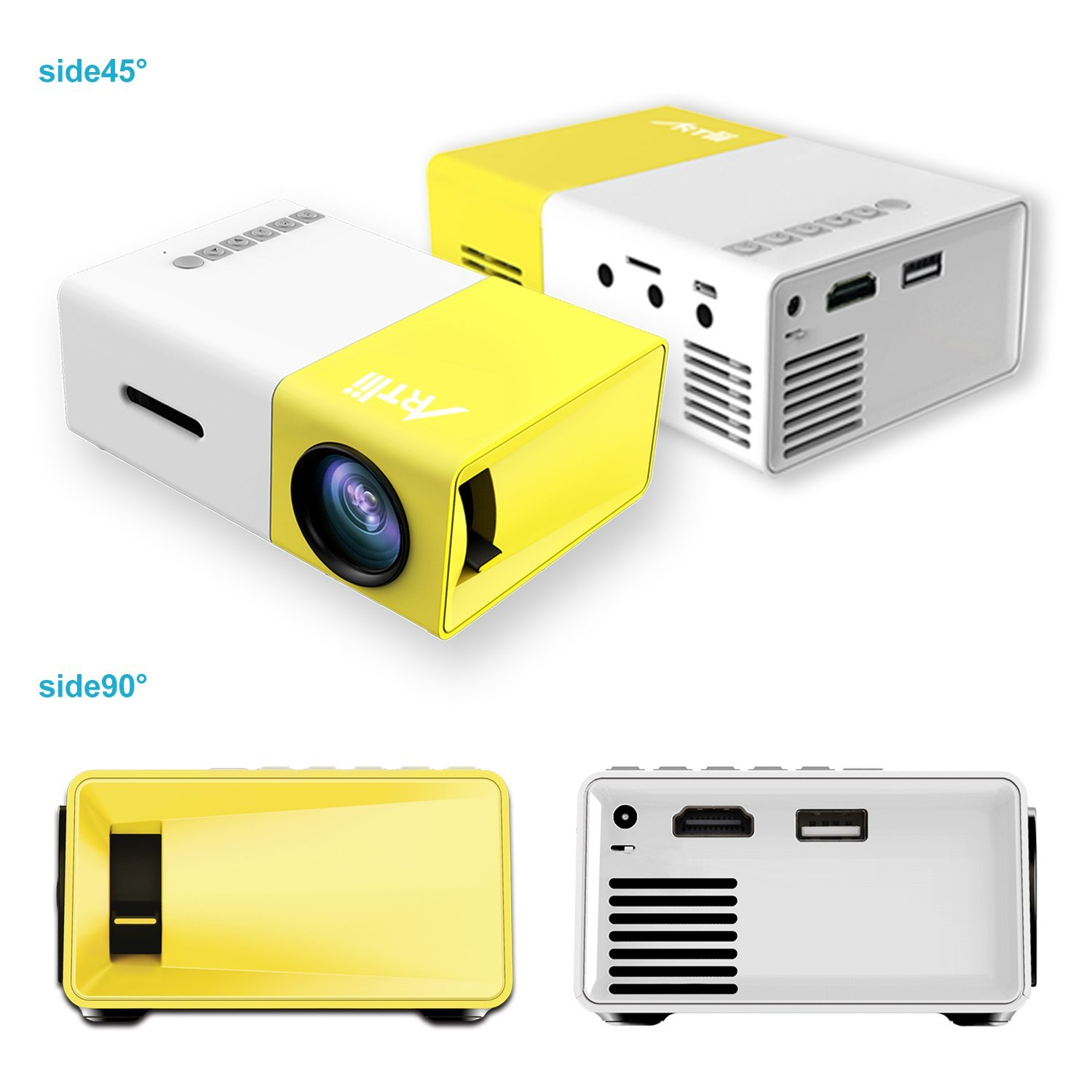 Love the idea artlii led mini projector for Which mini projector